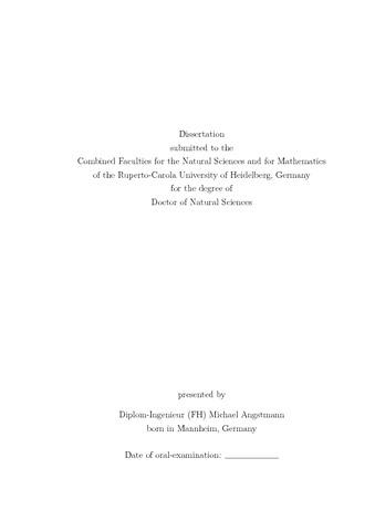 Dissertation on differentiation