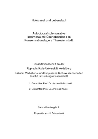 deckblatt dissertation musikwissenschaft